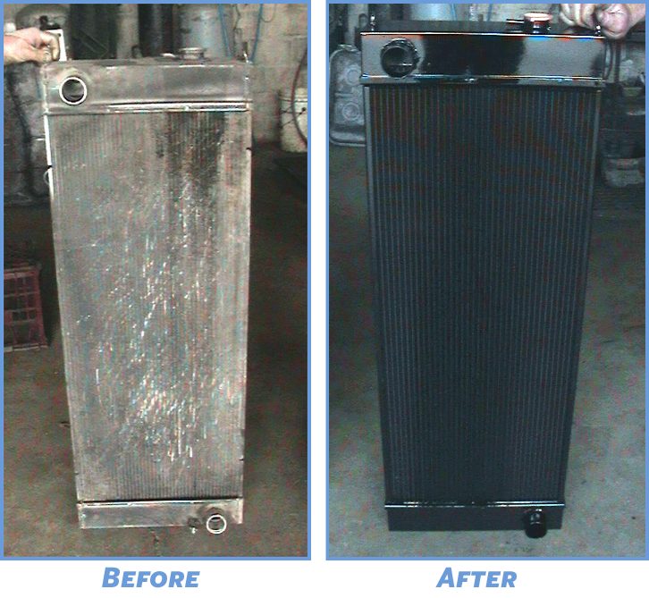Rads Before after